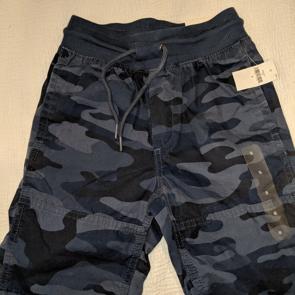b4ceca0987 GAP Bottoms | Boys Blue Camo Shorts | Poshmark